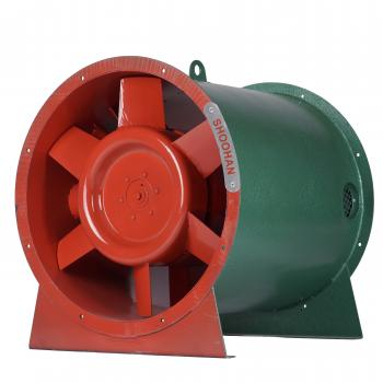 Quạt chống cháy nổ HTFB-2 (Hướng trục tốc độ đôi)