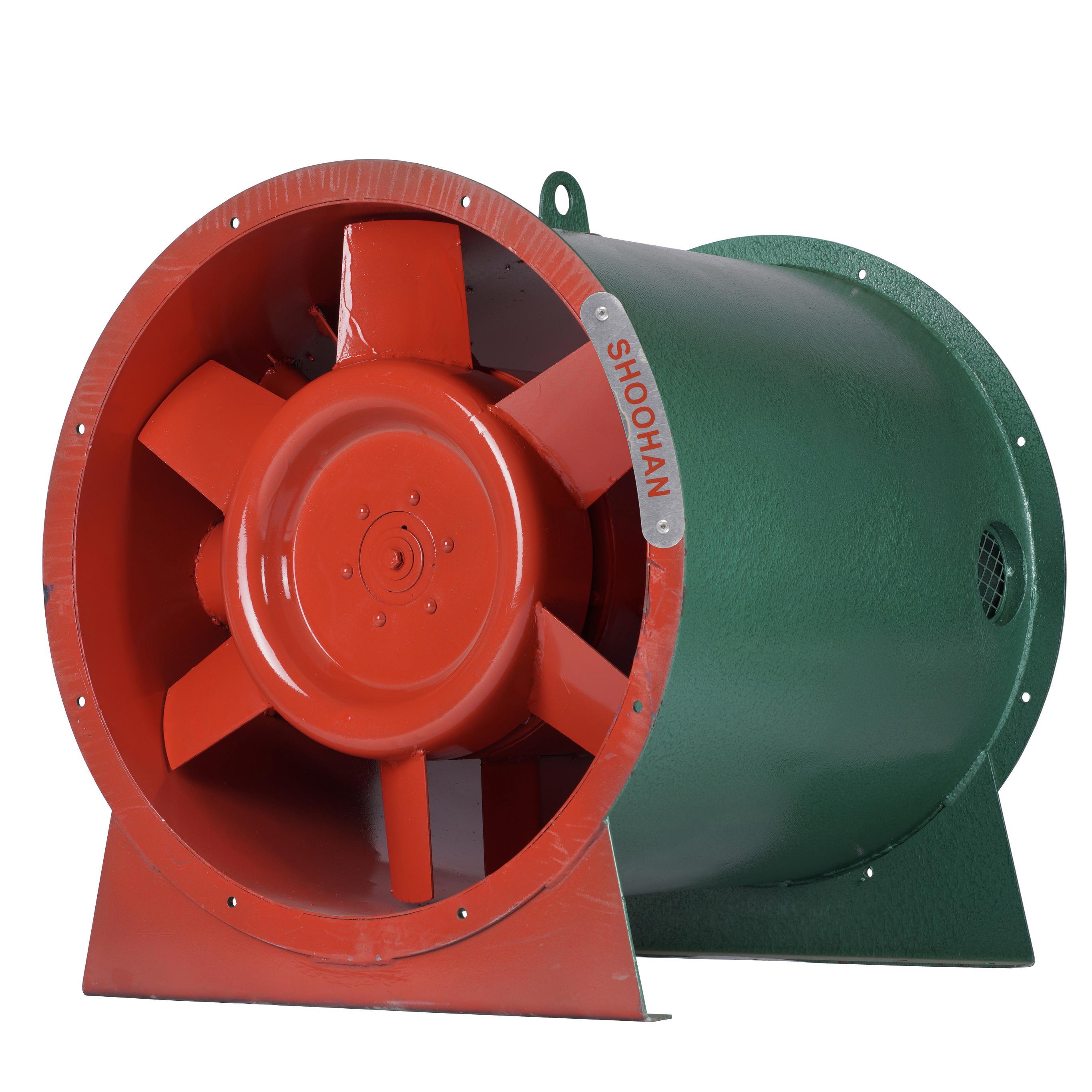 Quạt chống cháy nổ HTFA-2 ( Hướng trục tốc độ đôi)